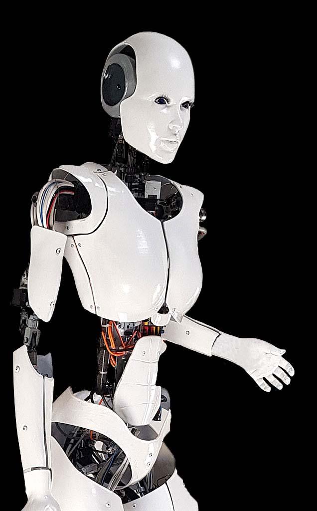 dancing cyborg robot huren
