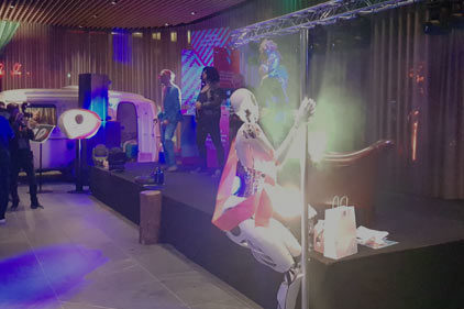 dance cyborg ludieke beurs actie